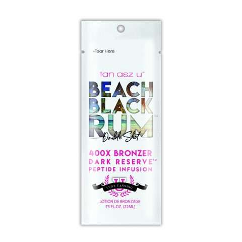 Tan Asz U Beach Black Rum 400X Bronzer 22ml