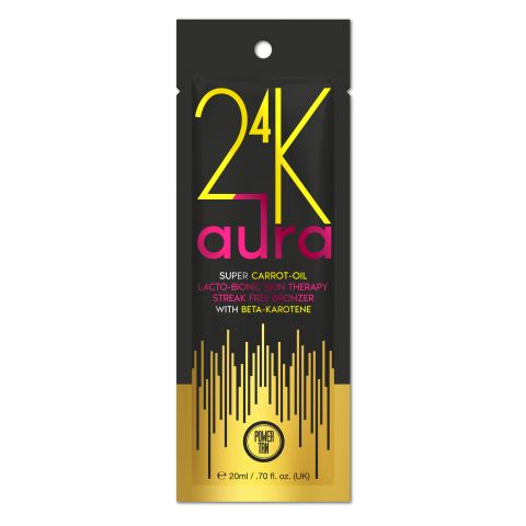 Power Tan - 24K Aura Super Carrot Oil Accelerator 20ml