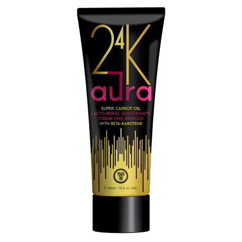 Power Tan - 24K Aura Super Carrot Oil Accelerator 250ml