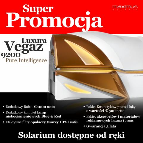 SUPER OFERTA Luxura VEGAZ 9200