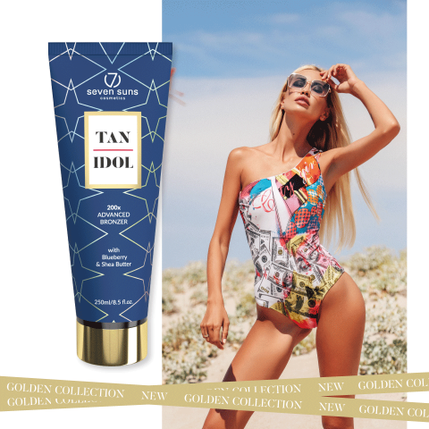7suns Tan Idol 250ml Bronze