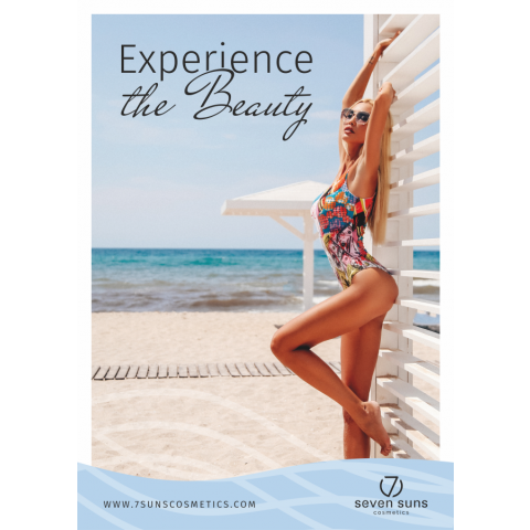 Plakat 7suns Experience the beauty A3