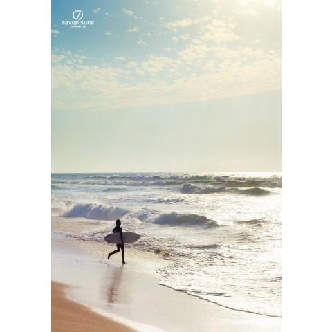 7suns plakat B1 dekoracyjny - surfer