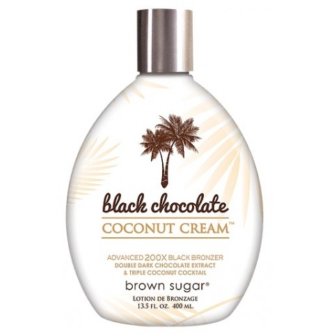 Brown Sugar Black Chocolate Coconut Cream 400ml Ciemny bronzer