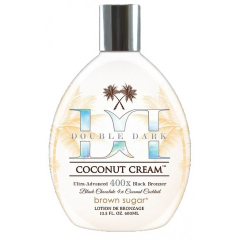 Brown Sugar Double Dark Coconut Cream 400ml Black Bronzer