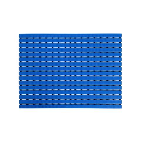 Mata podłogowa 80cm x 60cm - niebieska