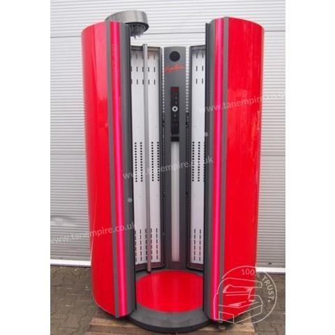 Solarium pionowe Ergoline Essence 440 Scarlet Red