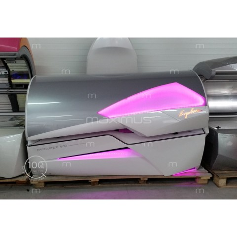 Solarium Ergoline Excellence 800 Turbo Power White Led Color Motion