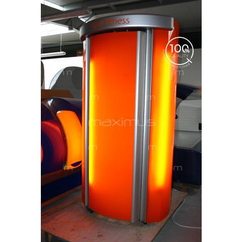 Solarium pionowe Tanzi Opal Fitness Orange