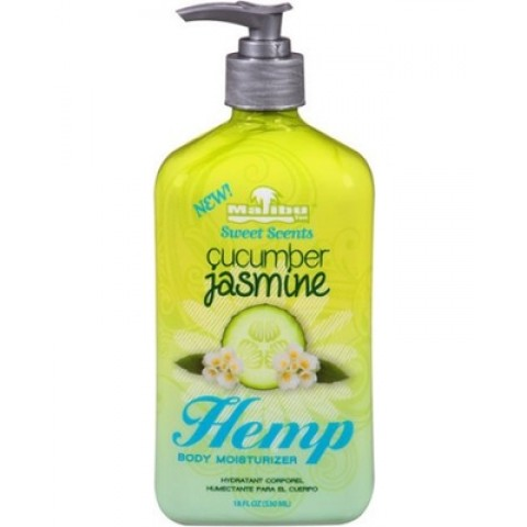 Malibu Tan Hemp Cucumber Jasmine 530ml