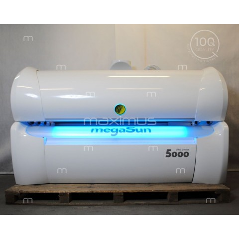 Solarium megaSun 5000 Ultra Power CPI / white led
