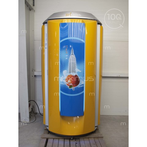 Solarium pionowe Soltron V-55 Turbo Power Big Apple, Vibra Floor
