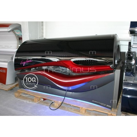 Solarium Ergoline Avantgarde 600 Turbo Power Red