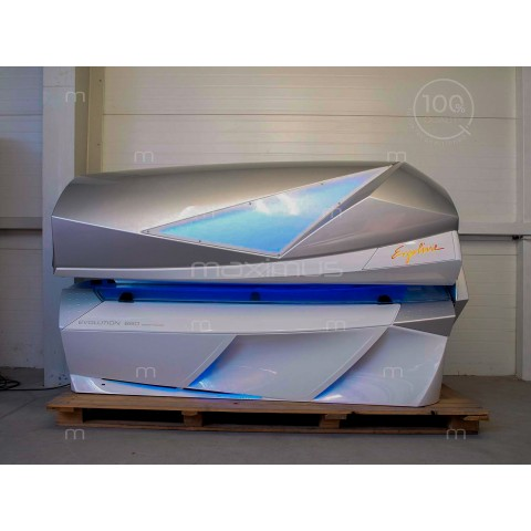 Solarium Ergoline Evolution 660 Smart Power White - Silver