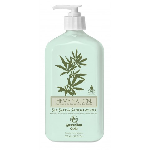Hemp Nation™ Sea Salt & Sandalwood 535 ml Balsam do ciała