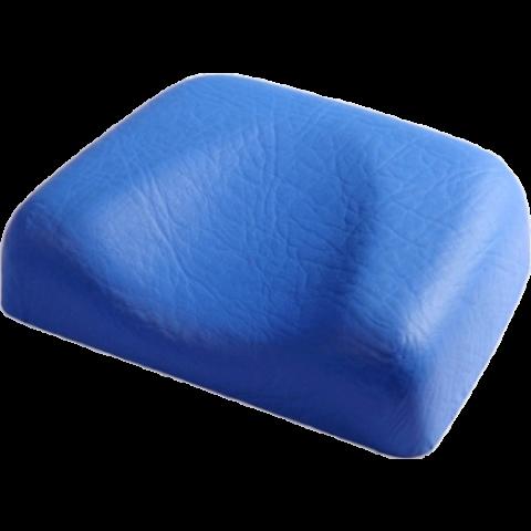 Podgłówek miękki niebieski
