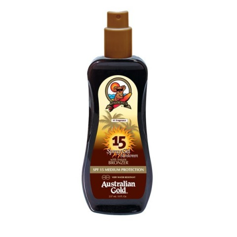 SPF 15 Spray Gel z bronzerem 237ml