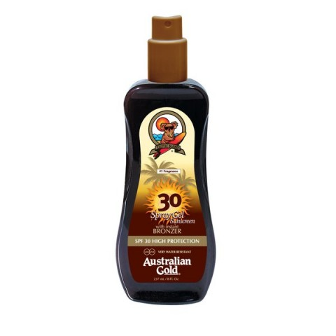 SPF 30 Spray Gel z bronzerem 237ml
