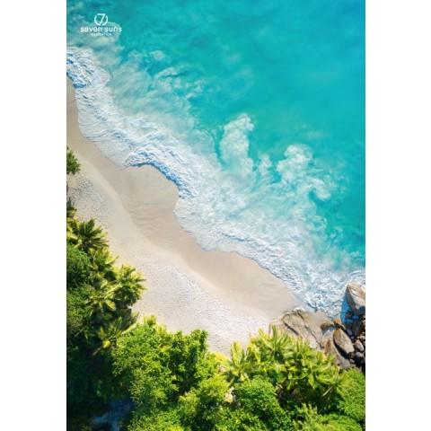 7suns plakat B1 dekoracyjny - plaża
