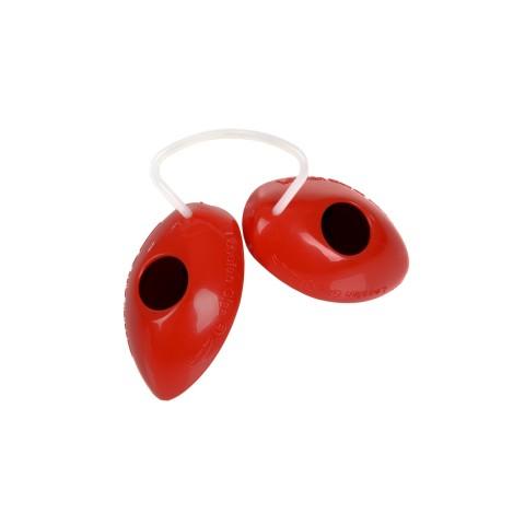 Okularki Vision1 czerwone