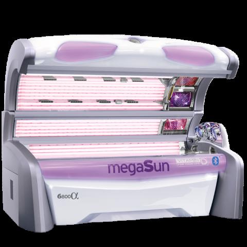 Solarium megaSun 6800 Alpha smartSun