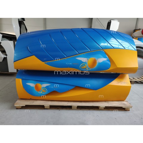 Solarium Soltron XL-75 Dynamic Power Flying Orange