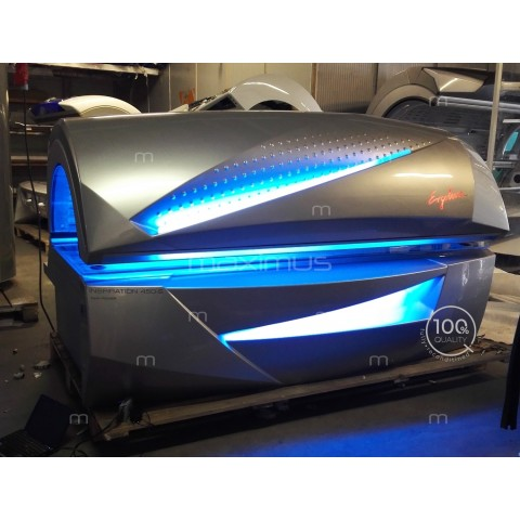 Solarium Ergoline Inspiration 400 Twin Power Silver