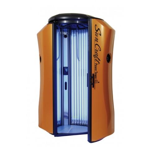 Solarium New Technology Sun Craft Power Tower 42i Pomarańczowe