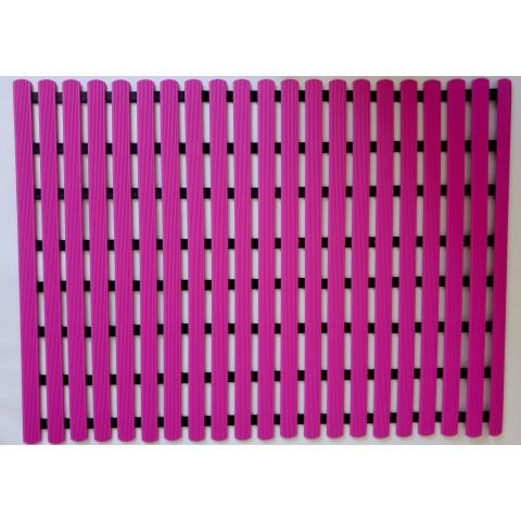 Mata podłogowa 80cm x 60cm - różowa