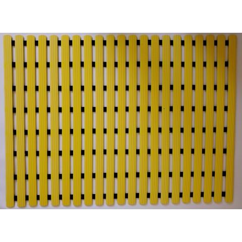 Mata podłogowa 80cm x 60cm - żółta