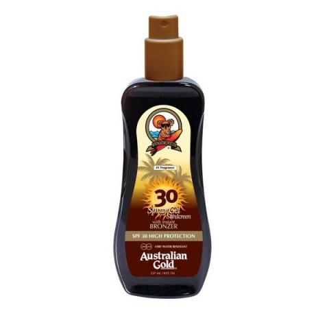 SPF 30 Spray Gel z bronzerem 237ml