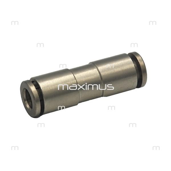 Złączka bryzy metalowa prosta automat 6mm