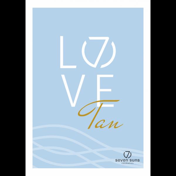 Plakat Love 7suns A3