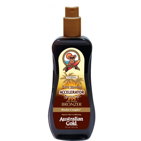Accelerator Continuous Gel with Bronzer 237ml