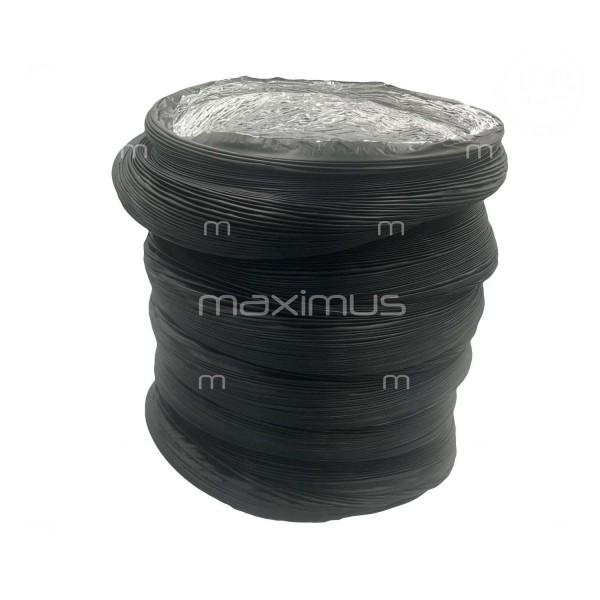 Przewód elastyczny FI 315mm czarny AA3 10m