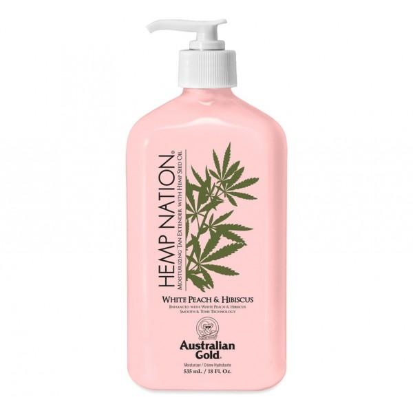 Hemp Nation™ Peach and Hibiscus 535 ml Balsam po opalaniu