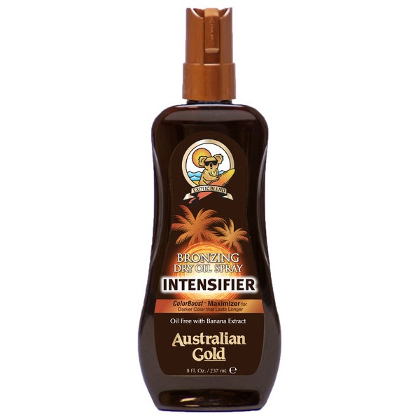Bronzing Dry Oil Spray Intensifier 237ml Sucha oliwka