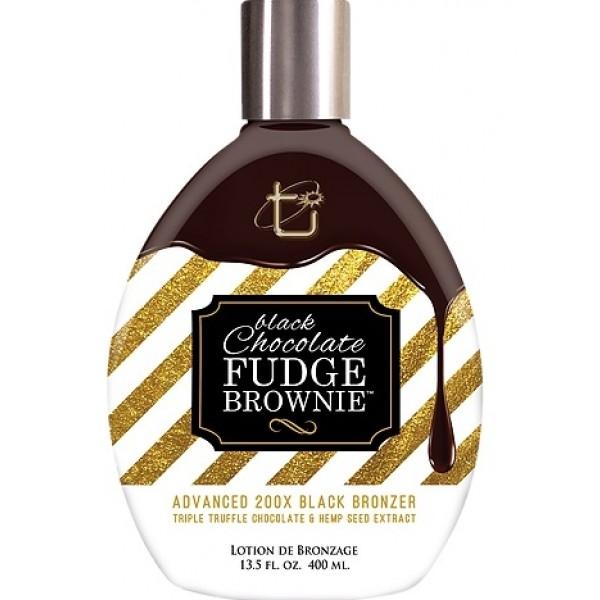 Brown Sugar  Black Chocolate Fudge Brownie