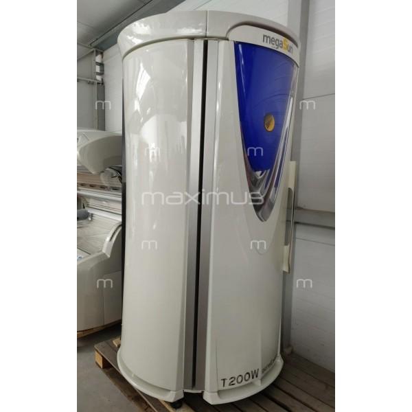 Solarium pionowe megaSun T200 White-Pearl-Blue
