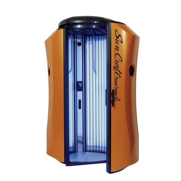 Solarium New Technology Sun Craft Power Tower 42i Pomarańczowe