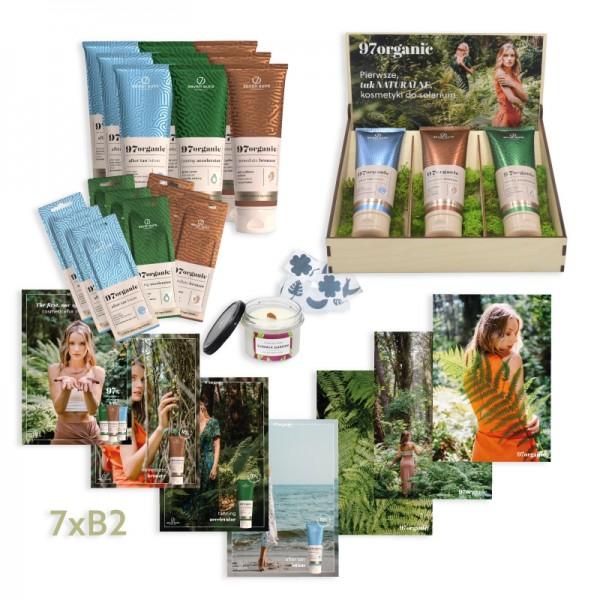 Pakiet Zielone Solarium 97organic kosmetyki + gadżety