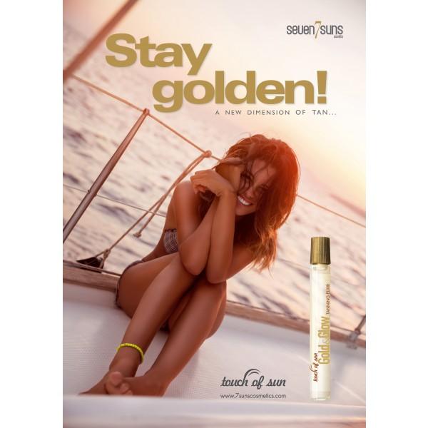 """Plakat 7suns """"Stay Golden"""" A3"""