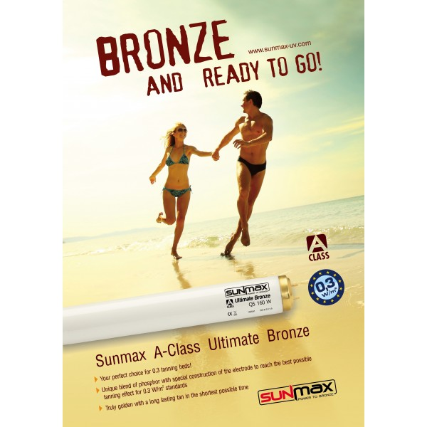 """Plakat Sunmax """"Bronze And Ready To Go"""""""