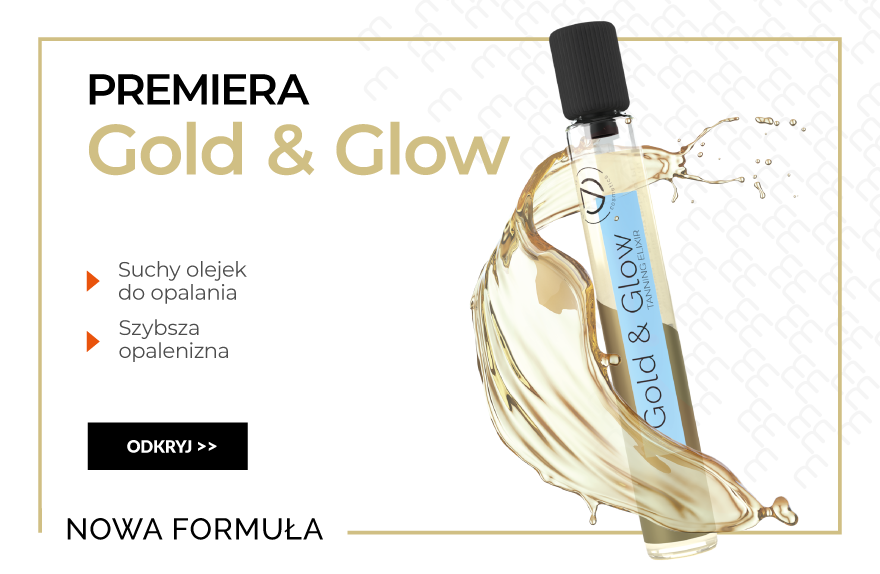 Gold glow suchy olejek do opalania
