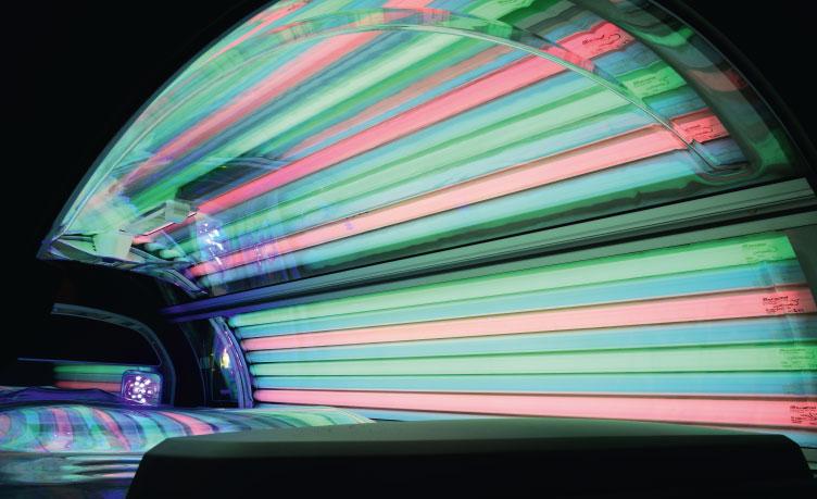 lampy kolorowe do solarium, jak zainstalować, jak działają?