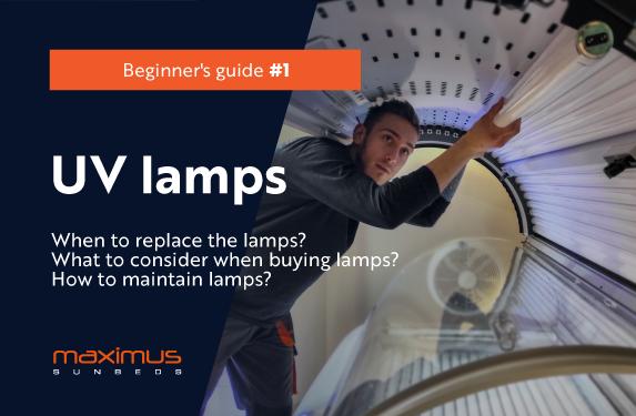 Solarium. Beginner's guide, part 1 - UV Lamps