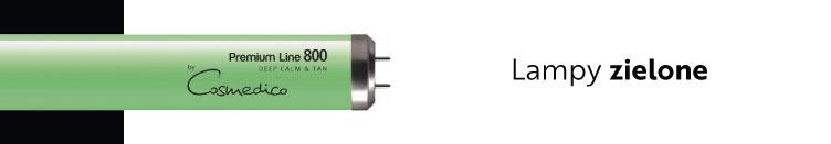 zielone lampy solarium