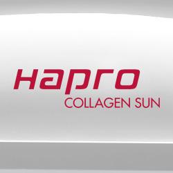 Home sunbed Hapro Collagen Sun 24 Pearl White
